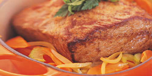 how to cook a bolar roast in the oven