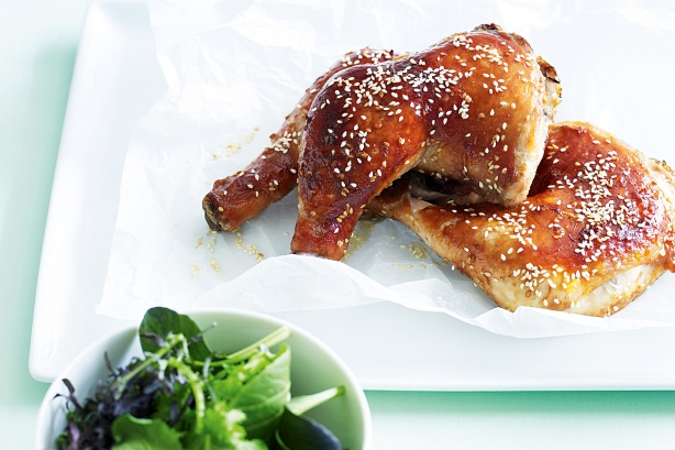 recipe soy honey and ginger roast chicken a sweet and sour treat that ...